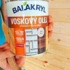Voskový olej Balakryl, pigmentace dub bílý