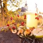 Šípkový čaj s jablky