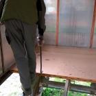 Páčíme podlahové izolačních desky, které jsou ve velmi dobrém stavu