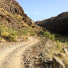 Vstupujeme do skalnatého údolí Barranco de los Vicentes