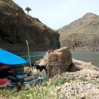 Konečně u jezera Presa de Gambuesa