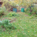Kompostéry | přírodní zahrada Evy Hauserové, Praha